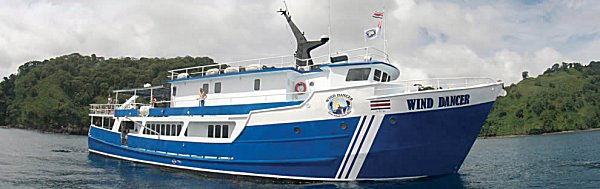 Wind Dancer luxury, diving liveaboard