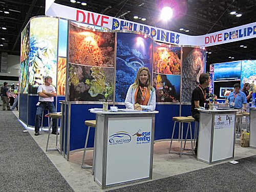Allison from Asia Divers at DEMA 2011