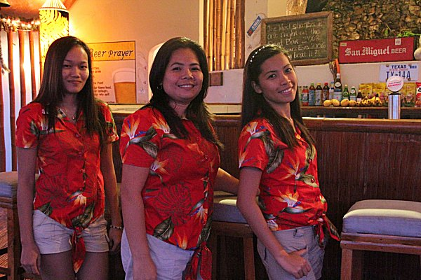 Point Bar staff