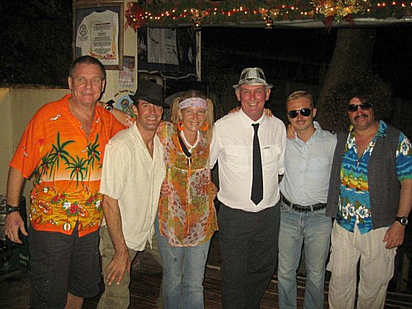 60s night at El Galleon resort in Puerto Galera