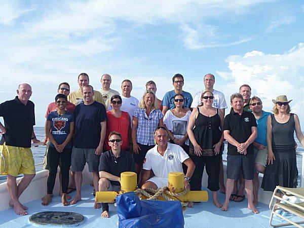 Liveaboard trip - Cocos Island on Wind Dancer April 28-08 May, 2012.